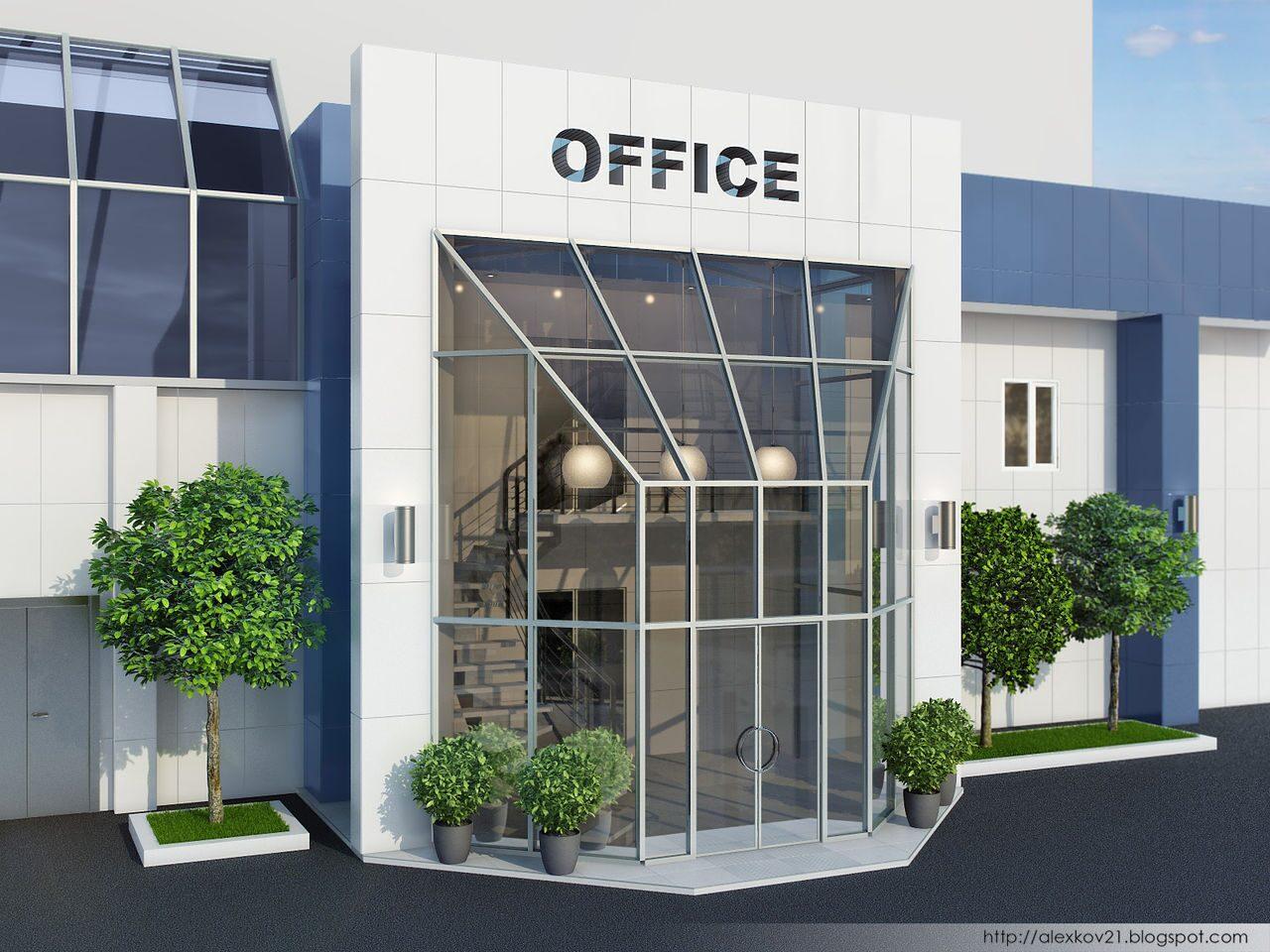 оформление входные двери офиса